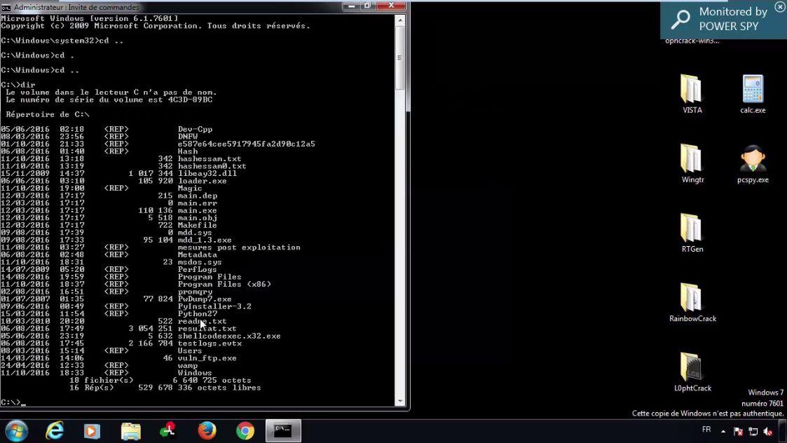 windows 7 pas authentique crack 7601