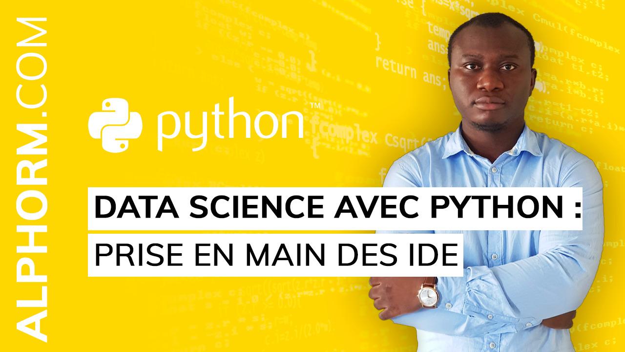 Formation Data Science avec Python : Prise en main des IDE sur Bookys