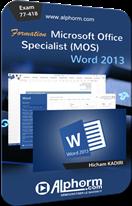 Formation en ligne MOS Word 2013 (77-418)