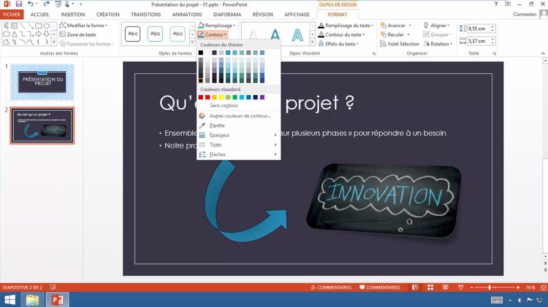 Meilleur Tuto Gratuit Powerpoint 2013 Réussir La