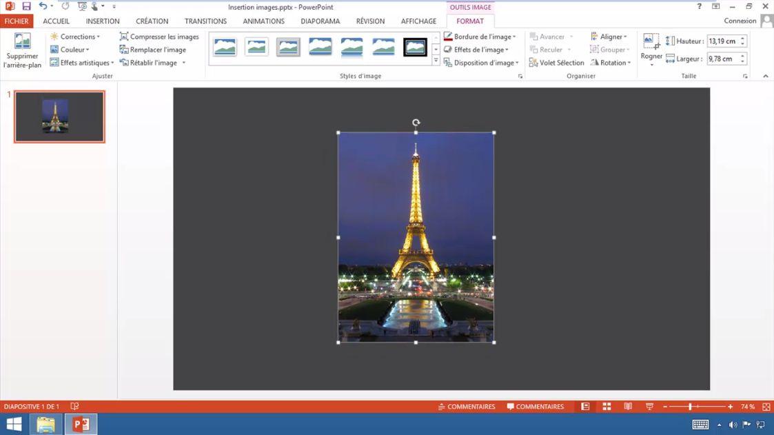 Meilleur tuto gratuit powerpoint 2013 r ussir la - Rogner une image sur open office ...