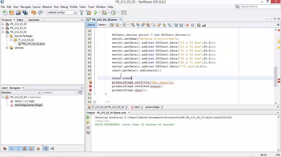 MEILLEUR TUTO GRATUIT JavaFX : Maîtriser la construction d