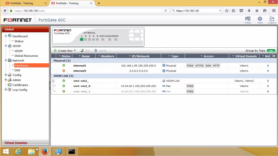 fortinet gratuit