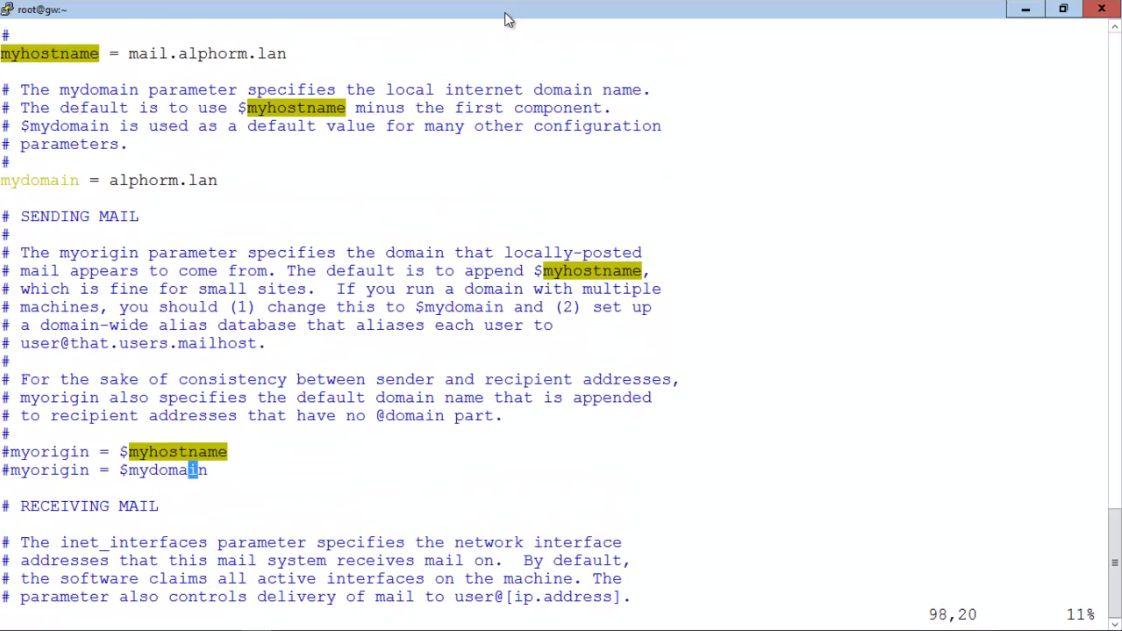 Configuration De Postfix Sous Redhat Pdf