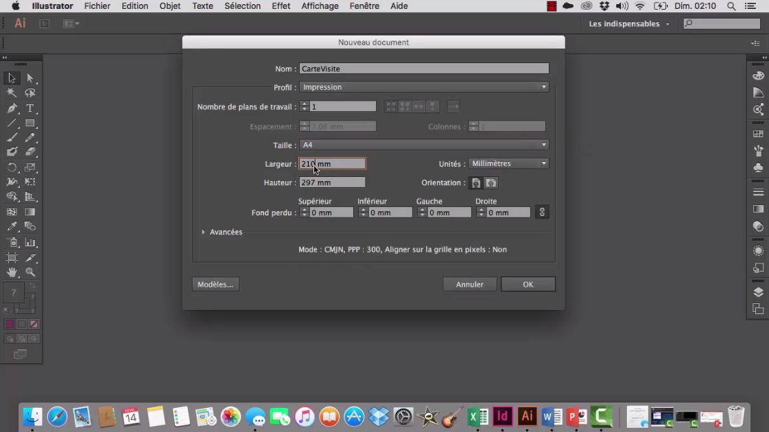 Tuto Video Parametrer Et Modifier Le Format De Document