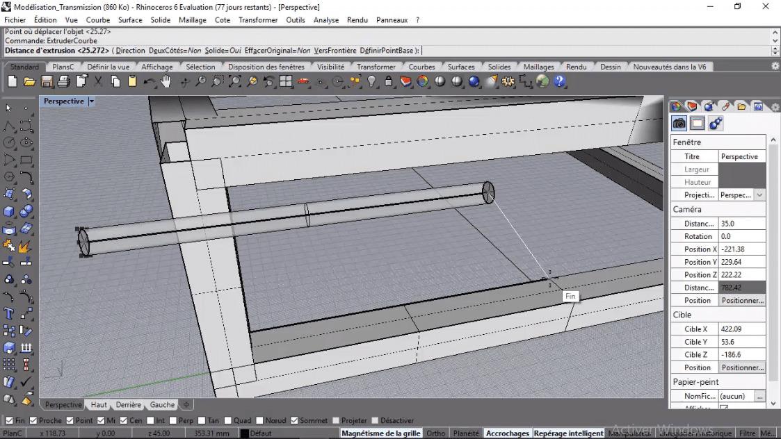 MEILLEUR TUTO GRATUIT Rhino 3D : Atelier de modélisation
