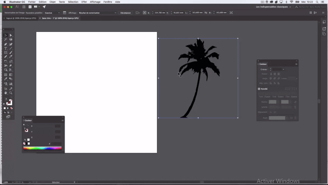 Meilleur Tuto Gratuit Adobe Illustrator Cc 2018 Apprenez à