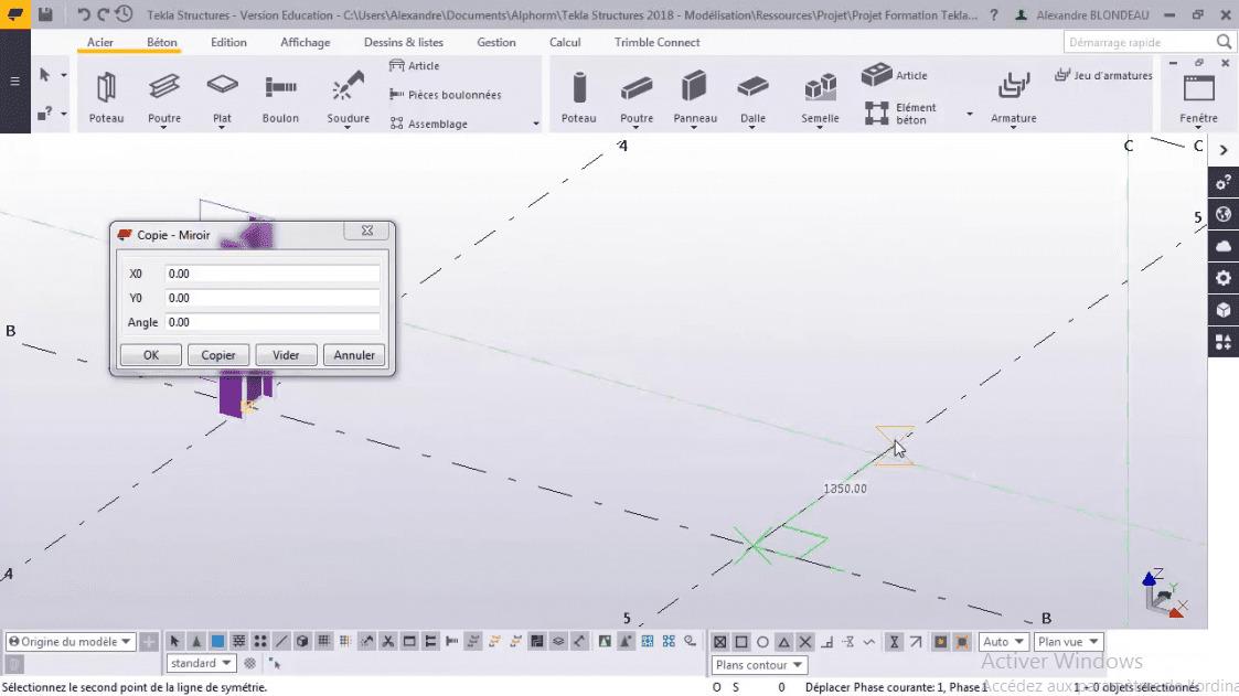 logiciel tekla charpente metallique gratuit