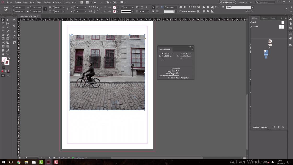Adobe Indesign CC 2019 : L'essentiel