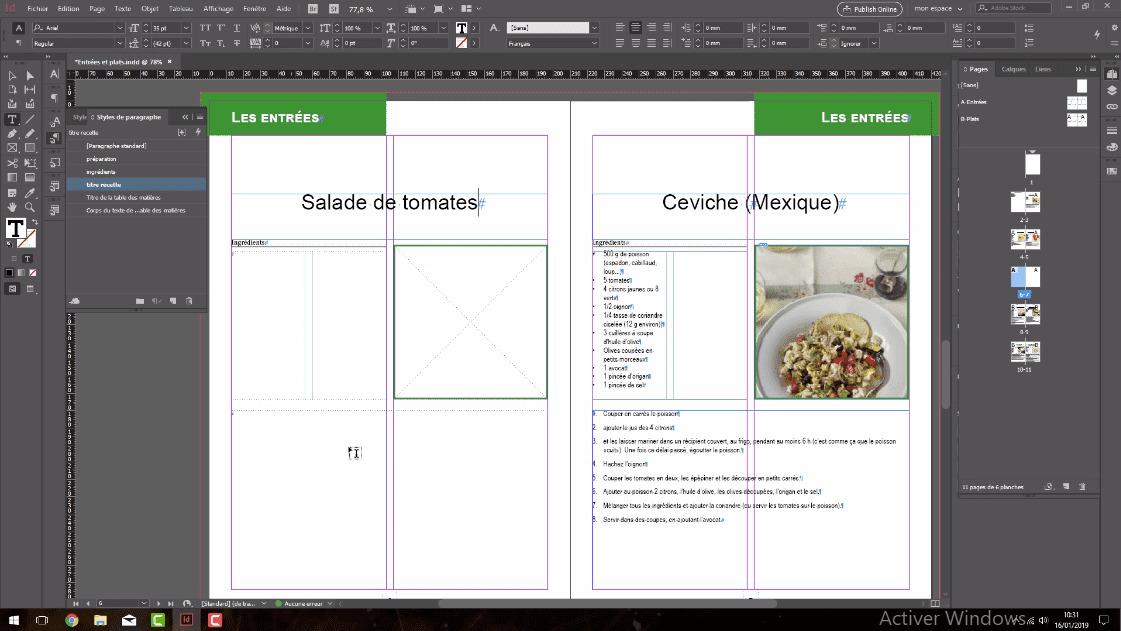 Meilleur Tuto Gratuit Adobe Indesign Cc 2019 L Essentiel Mise A