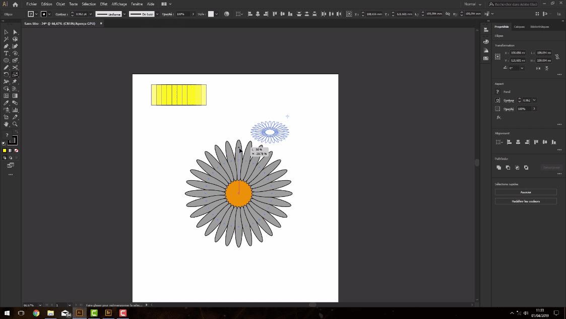 Meilleur Tuto Gratuit Adobe Illustrator Cc 2019 L Essentiel L Outil Mise A L Echelle Alphorm Com